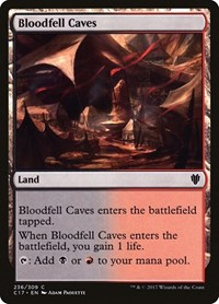 Bloodfell Caves, Magic: The Gathering, Commander 2017