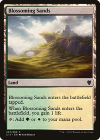 Blossoming Sands, Magic: The Gathering, Commander 2017