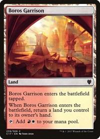 Boros Garrison, Magic: The Gathering, Commander 2017
