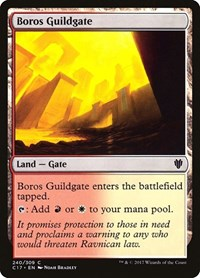 Boros Guildgate, Magic: The Gathering, Commander 2017