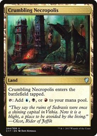 Crumbling Necropolis, Magic: The Gathering, Commander 2017