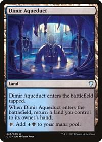 Dimir Aqueduct, Magic, Commander 2017