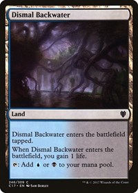 Dismal Backwater, Magic: The Gathering, Commander 2017