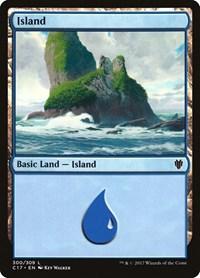 Island (300), Magic: The Gathering, Commander 2017