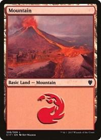 Mountain (306), Magic: The Gathering, Commander 2017