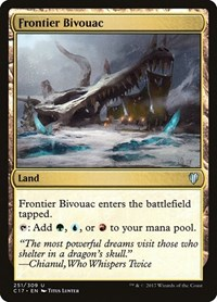 Frontier Bivouac, Magic: The Gathering, Commander 2017