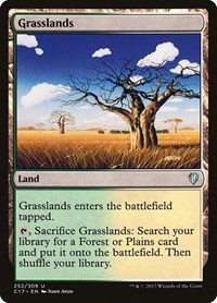 Grasslands, Magic, Commander 2017