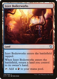 Izzet Boilerworks, Magic: The Gathering, Commander 2017