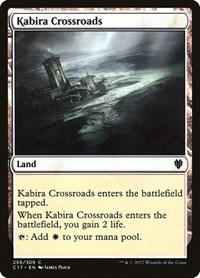 Kabira Crossroads, Magic, Commander 2017