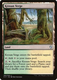 Krosan Verge, Magic: The Gathering, Commander 2017