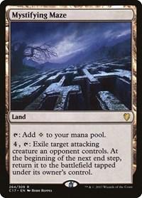 Mystifying Maze, Magic: The Gathering, Commander 2017