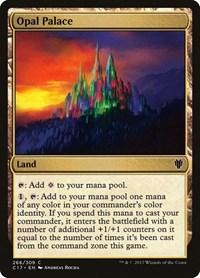 Opal Palace, Magic, Commander 2017