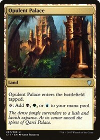 Opulent Palace, Magic: The Gathering, Commander 2017