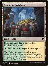 Selesnya Guildgate, Magic: The Gathering, Commander 2017