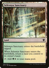 Selesnya Sanctuary, Magic: The Gathering, Commander 2017