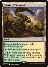 Stirring Wildwood, Magic, Commander 2017