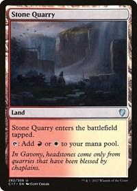 Stone Quarry, Magic: The Gathering, Commander 2017