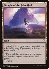 Temple of the False God, Magic: The Gathering, Commander 2017