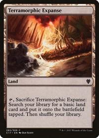 Terramorphic Expanse, Magic: The Gathering, Commander 2017