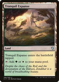 Tranquil Expanse, Magic: The Gathering, Commander 2017