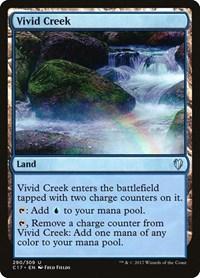 Vivid Creek, Magic, Commander 2017