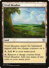 Vivid Meadow, Magic: The Gathering, Commander 2017
