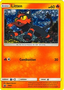 Litten - SM02 (General Mills Promo), Pokemon, Miscellaneous Cards & Products