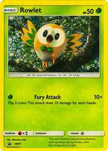 Rowlet - SM01 (General Mills Promo), Pokemon, Miscellaneous Cards & Products
