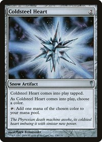 Coldsteel Heart, Magic: The Gathering, Coldsnap