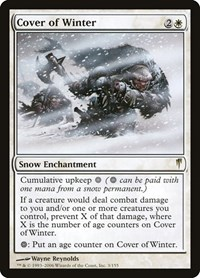 Cover of Winter, Magic: The Gathering, Coldsnap