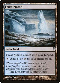 Frost Marsh, Magic: The Gathering, Coldsnap