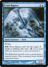Frost Raptor, Magic, Coldsnap