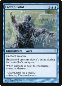 Frozen Solid, Magic: The Gathering, Coldsnap