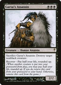 Garza's Assassin, Magic: The Gathering, Coldsnap