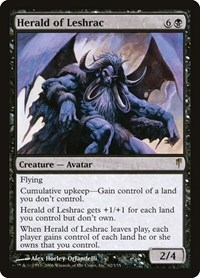 Herald of Leshrac, Magic: The Gathering, Coldsnap