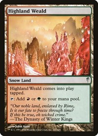 Highland Weald (Foil)