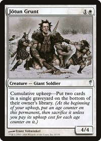 Jotun Grunt, Magic: The Gathering, Coldsnap