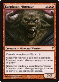 Karplusan Minotaur, Magic: The Gathering, Coldsnap