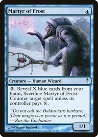 Martyr of Frost, Magic: The Gathering, Coldsnap