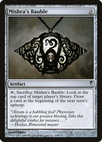 Mishra's Bauble, Magic: The Gathering, Coldsnap