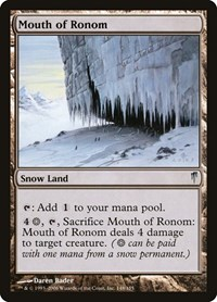 Mouth of Ronom, Magic: The Gathering, Coldsnap