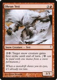 Ohran Yeti, Magic: The Gathering, Coldsnap