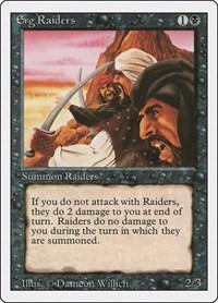 Erg Raiders, Magic: The Gathering, Revised Edition