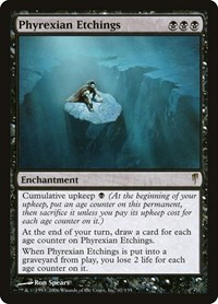 Phyrexian Etchings, Magic: The Gathering, Coldsnap