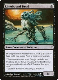 Rimebound Dead, Magic: The Gathering, Coldsnap