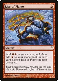 Rite of Flame, Magic: The Gathering, Coldsnap