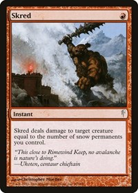 Skred, Magic: The Gathering, Coldsnap