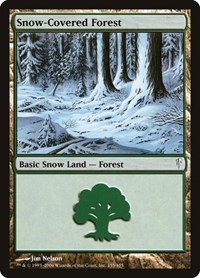 Snow-Covered Forest, Magic, Coldsnap