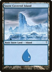 Snow-Covered Island, Magic: The Gathering, Coldsnap
