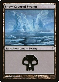 Snow-Covered Swamp, Magic, Coldsnap